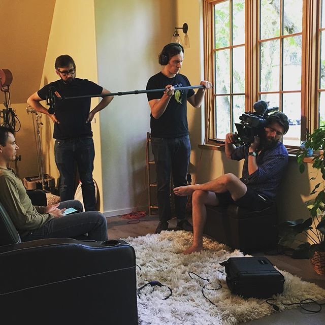"What a ""rad"" day the @ampcoil Team had today at HQ Nevada City with the absolute experts @radhaus_creative curating and filming awesome content for our newly updated portable, international and oh so exciting @ampcoil pemf device coming soon! 👏🏻 😎 💛 🙏🏼 #biohack #pemf #transformation #ampcoil #videoproduction #trkr #excited #filming🎬 #biohacking #nevadacity #soundtechnology #teslacoil #amazing #filmshoot #slowreveal"