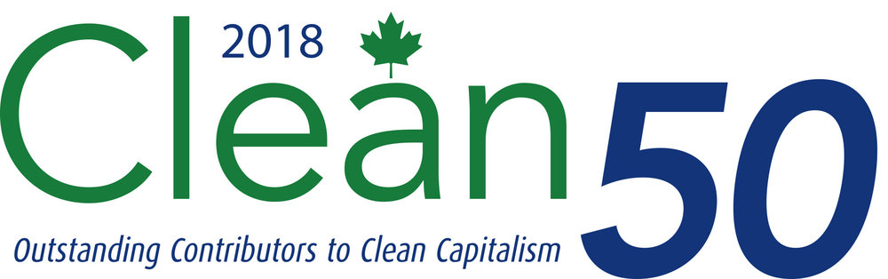Proudly recognized as one of Canada's top organizations with leadership committed to sustainable development and clean capitalism.