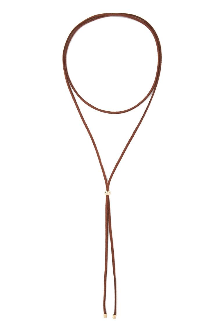 Forever 21, $4 Chokers are still going pretty strong, and I'm loving this bolo-inspired version. I plan to make my own though because I want that hint of burgundy I talked about above!