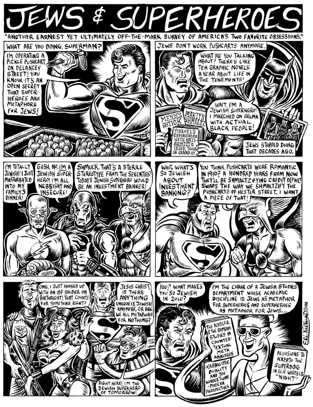 Jews And Superheroes. Shofar, Winter 2011