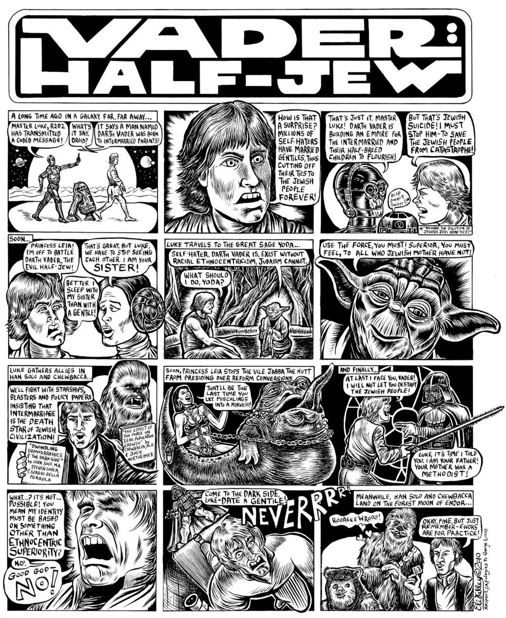 Vader: Half-Jew: Intermarriage. Forward, 3/25/10