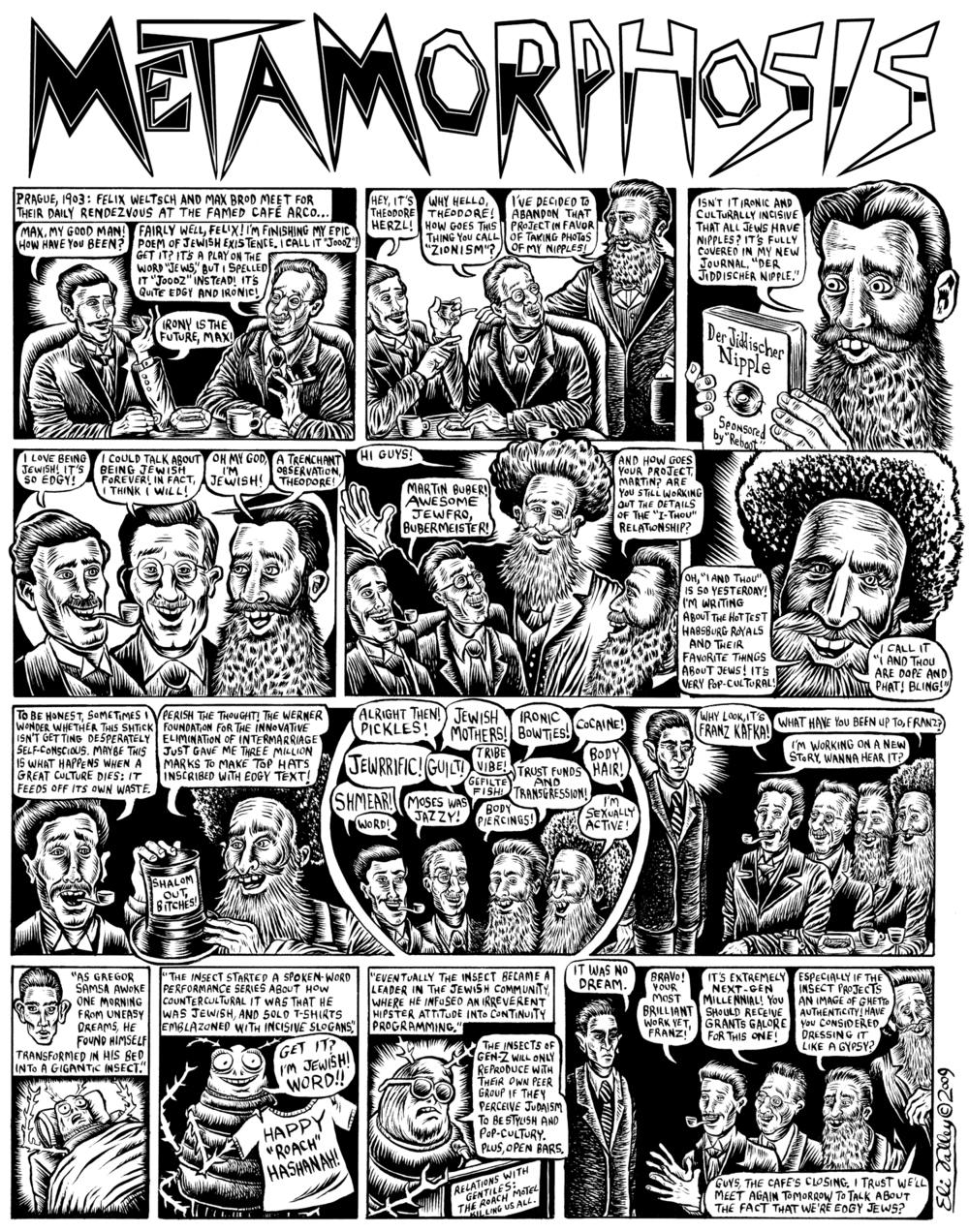 Metamorphosis: Hipster Herzls. The Forward, 11/25/09