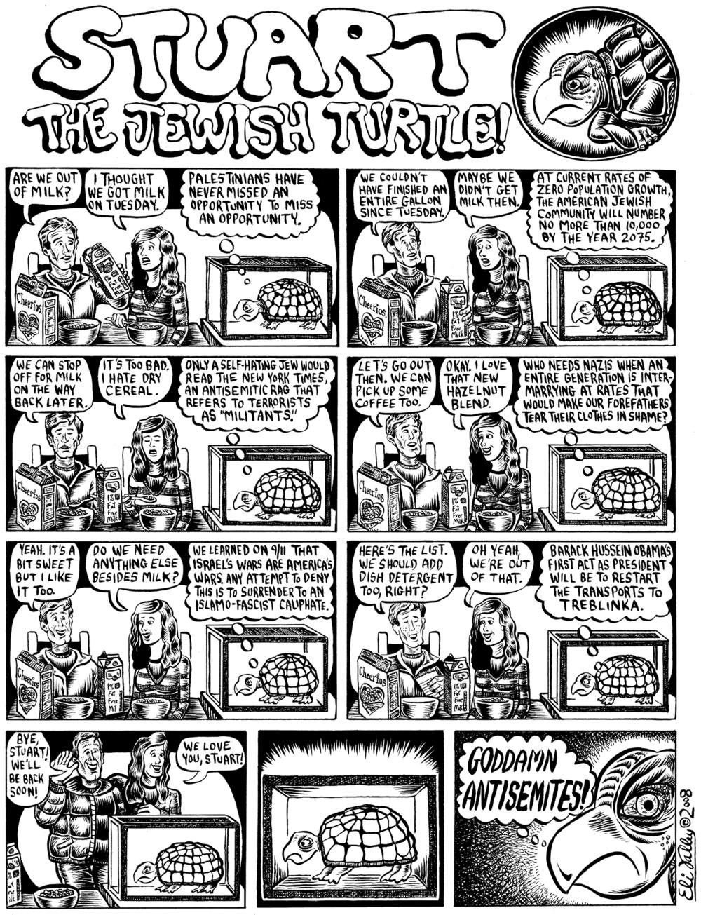 Stuart The Jewish Turtle. The Forward, 12/31/08