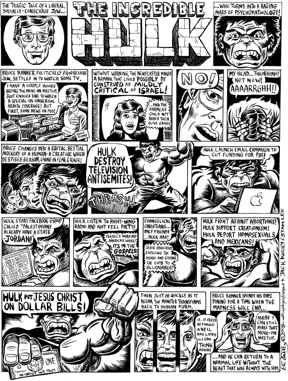The Incredible Hulk. Jewcy, 6/12/08
