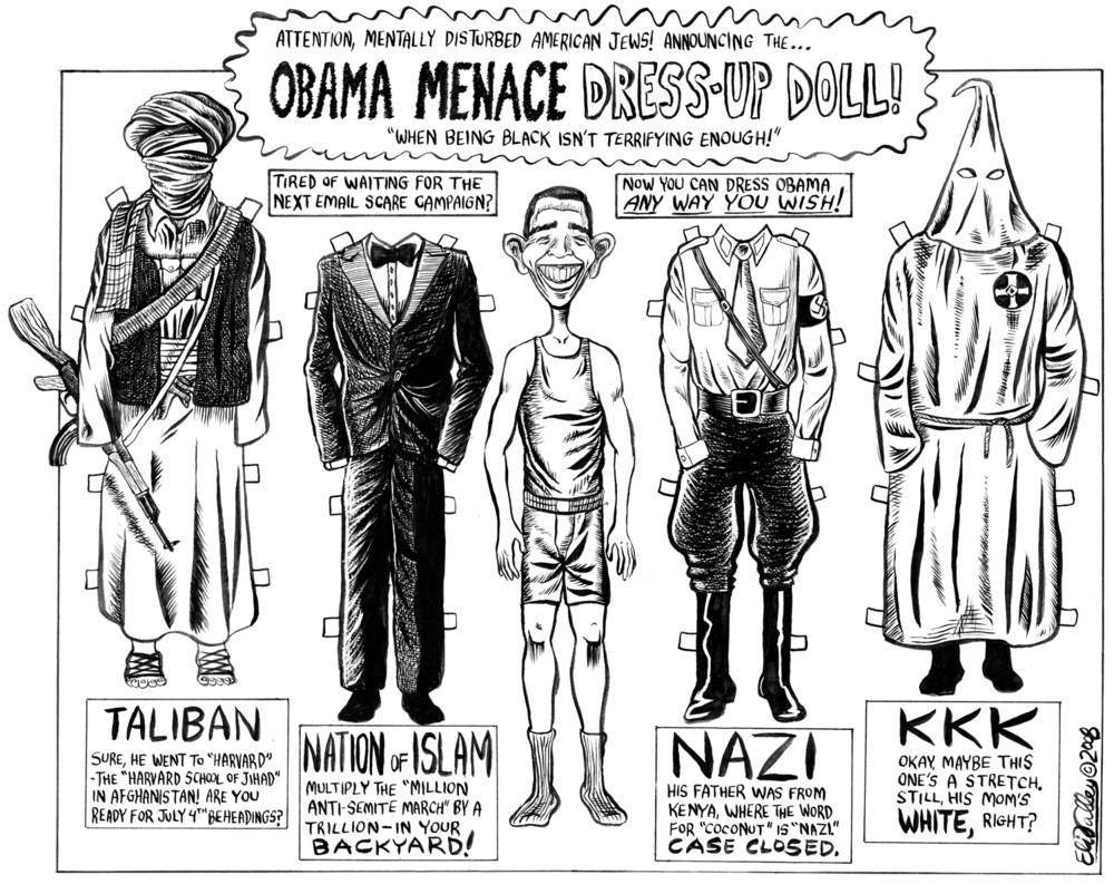 Obama Menace Dress-Up Doll. Jewcy, 2/4/08