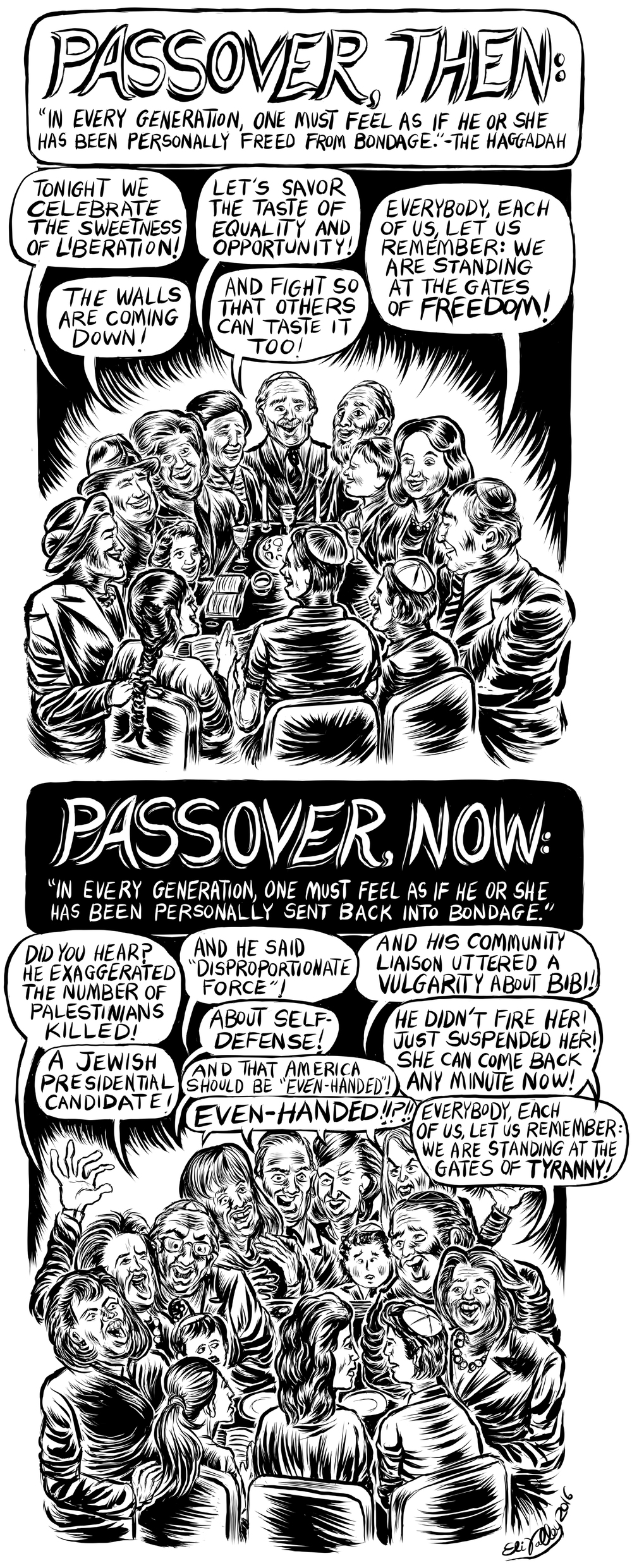 Passover From Generation To Generation, +972 Magazine, 4/19/16