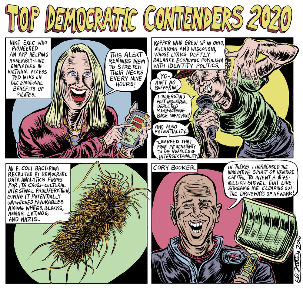 Top Dem Contenders 2020, Village Voice, 1/3/17