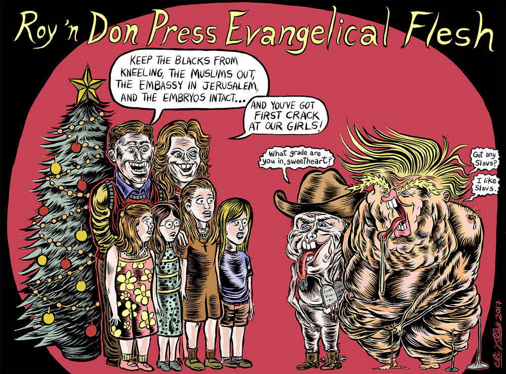 Roy Moore & Donald Trump, 11/11/17