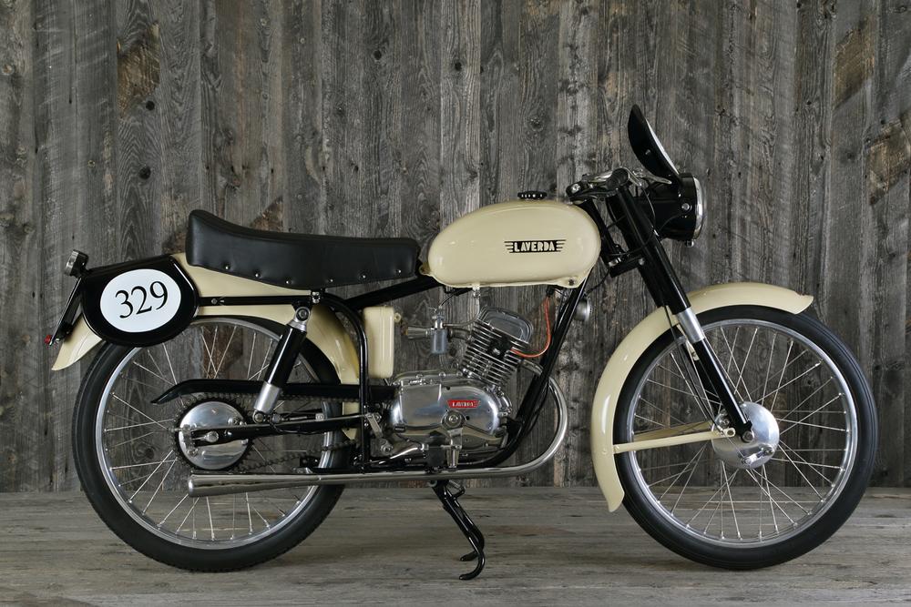 1953 Laverda 75 Sport Milano Taranto Rader