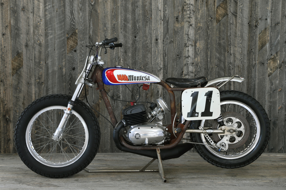 1960 Montesa Don Castro Flat Tracker