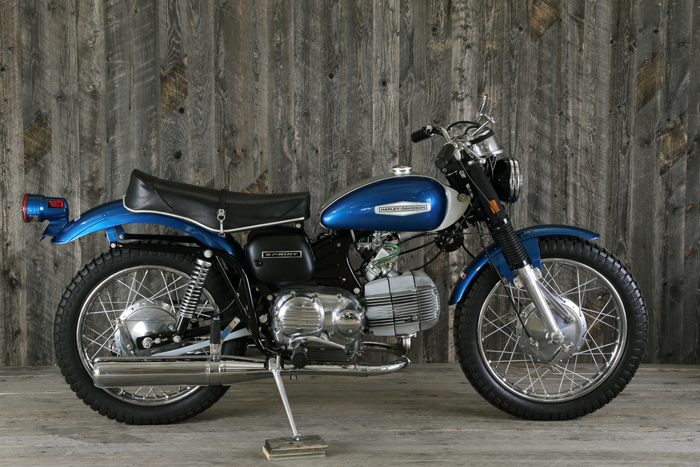 1969 Harley Aermacchi Sprint 350