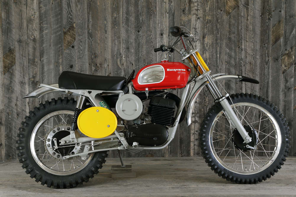 1971 Husqvarna 400 Cross