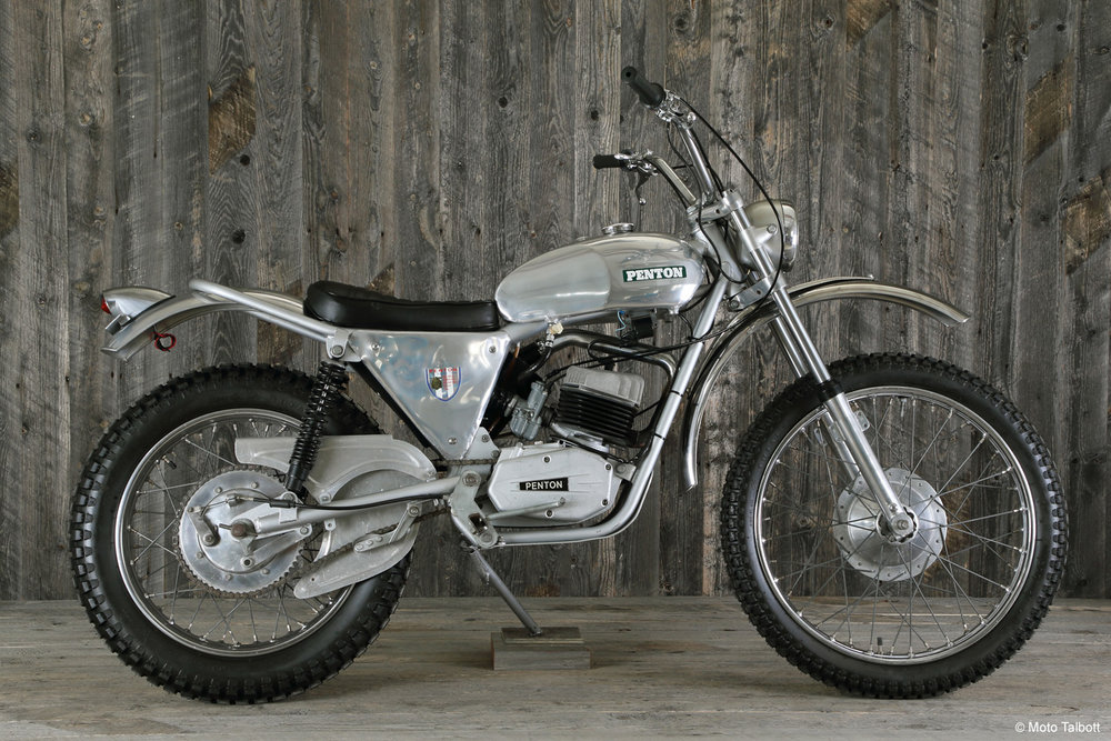 1970 Penton 125 Trials Bike