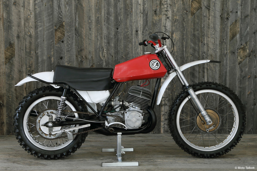 1974 CZ 400 MotoCross