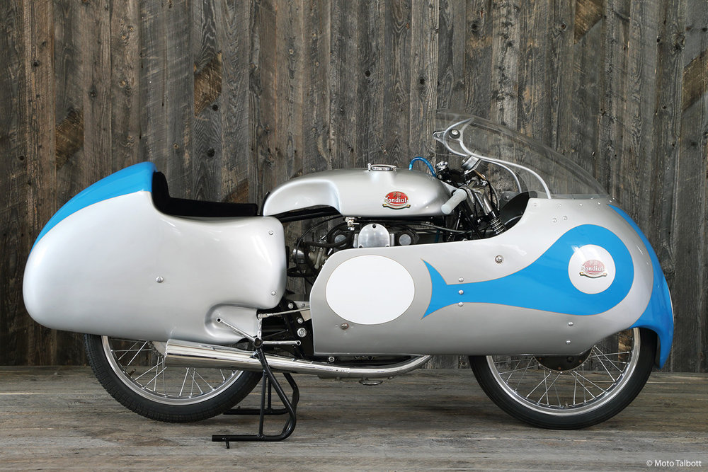 1957 Mondial 125 GP Dustbin