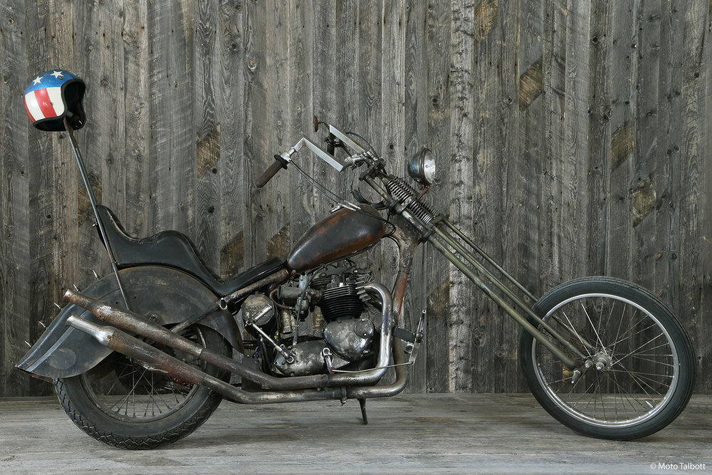 1969 Triumph Bonneville Rat Chopper