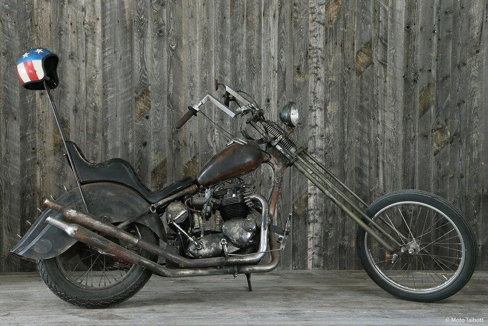 1969 Triumph Bonneville Rat Chopper