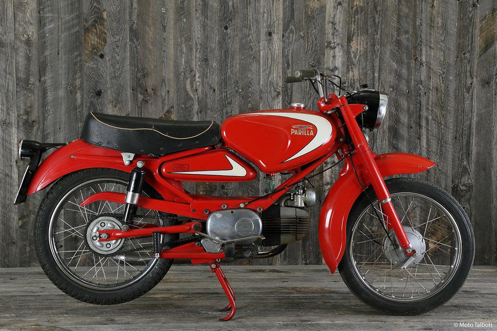 1961 Moto Parilla Olympia 100