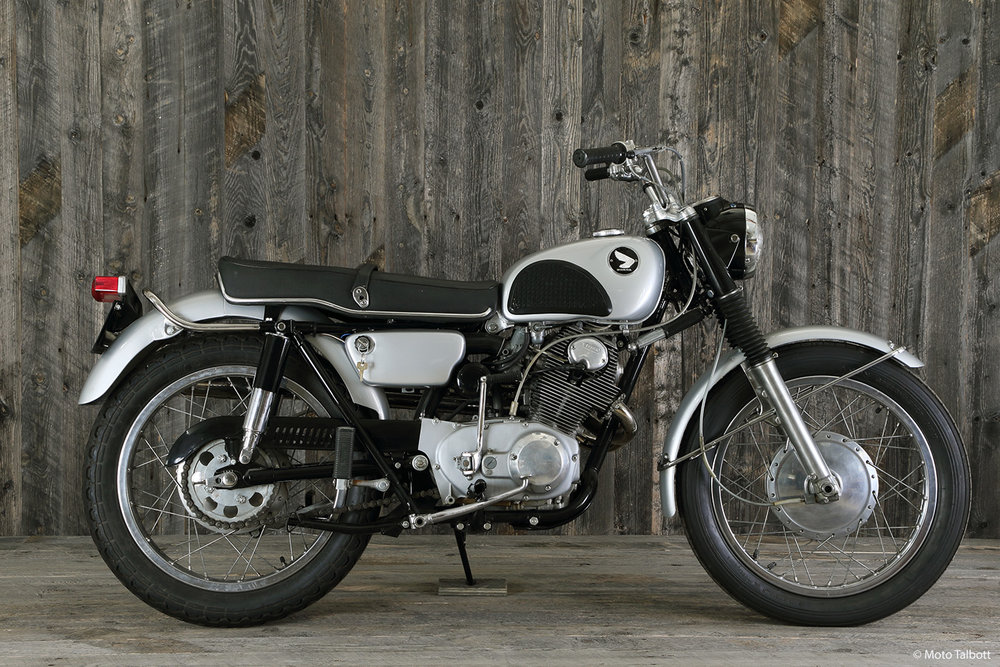 1966 Honda 305 Scrambler