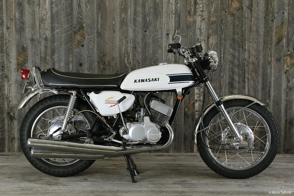 1969 Kawasaki 500 H1 Mach III