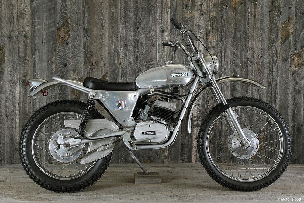 1970 Penton 175 Trials