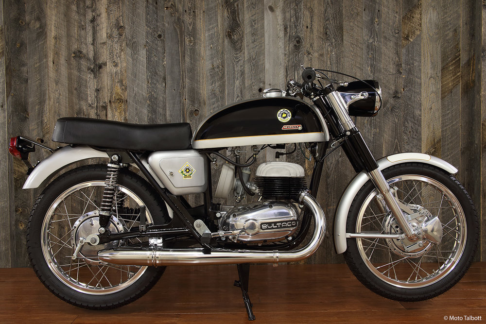1966 Bultaco 250 Metralla MK2