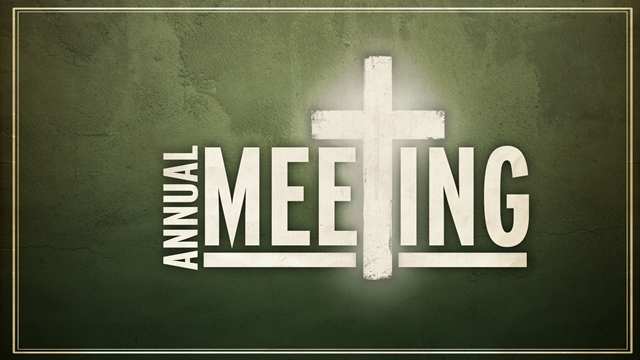 WE will have our annual All Church meeting at 7 PM on Wednesday January 24th. It is very important that everyone attend if at all possible. The Board will use this time to discuss the 2017 budget and introduce the 2018 Budget and bring us up to speed on the Building remodel project. We will also start the process of electing 2 new Board members as well as put at least 2 new brothers before the church to be considered as Deacons. The 2018 Calendar will also be made available and we will outline a new and different approach we are taking to our teaching ministry. So ... there is a lot to talk about -- don't miss it. Wednesday January 24th at 7 PM.