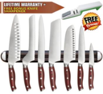 Inspired Home Living's Magnetic Knife Holder