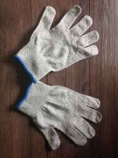 #orblue #cuttinggloves