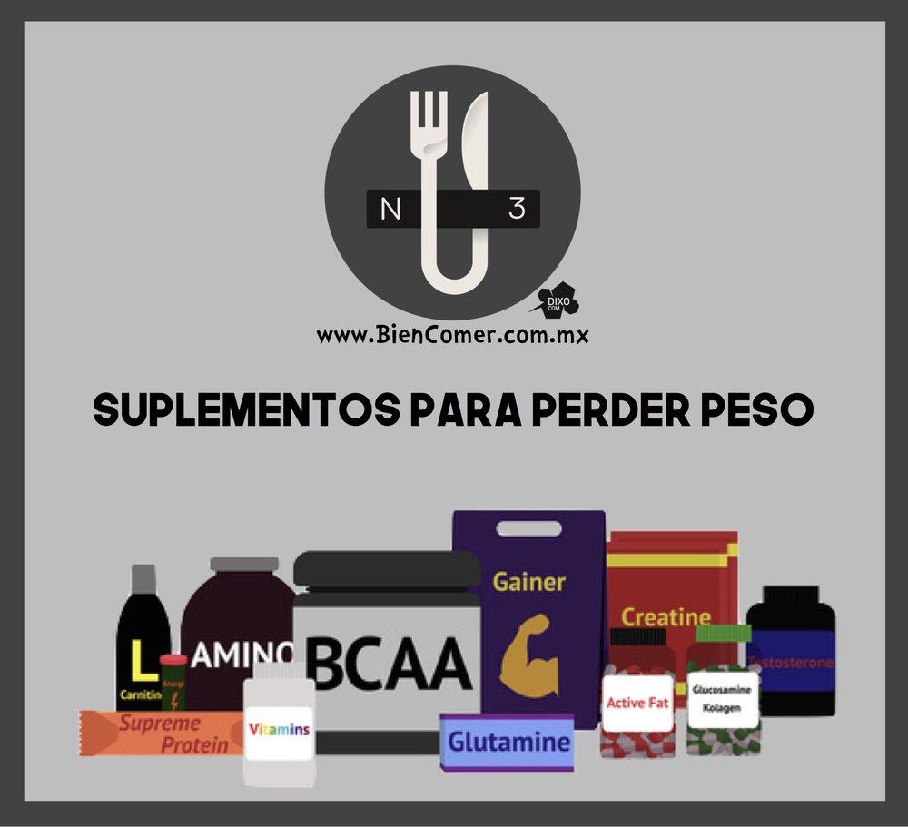 Suplementos para perder peso bien comer for Deportes para perder peso