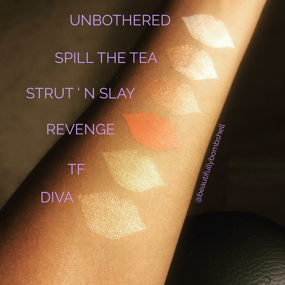 makeup shayla colourpop perception eyeshadow palette swatches