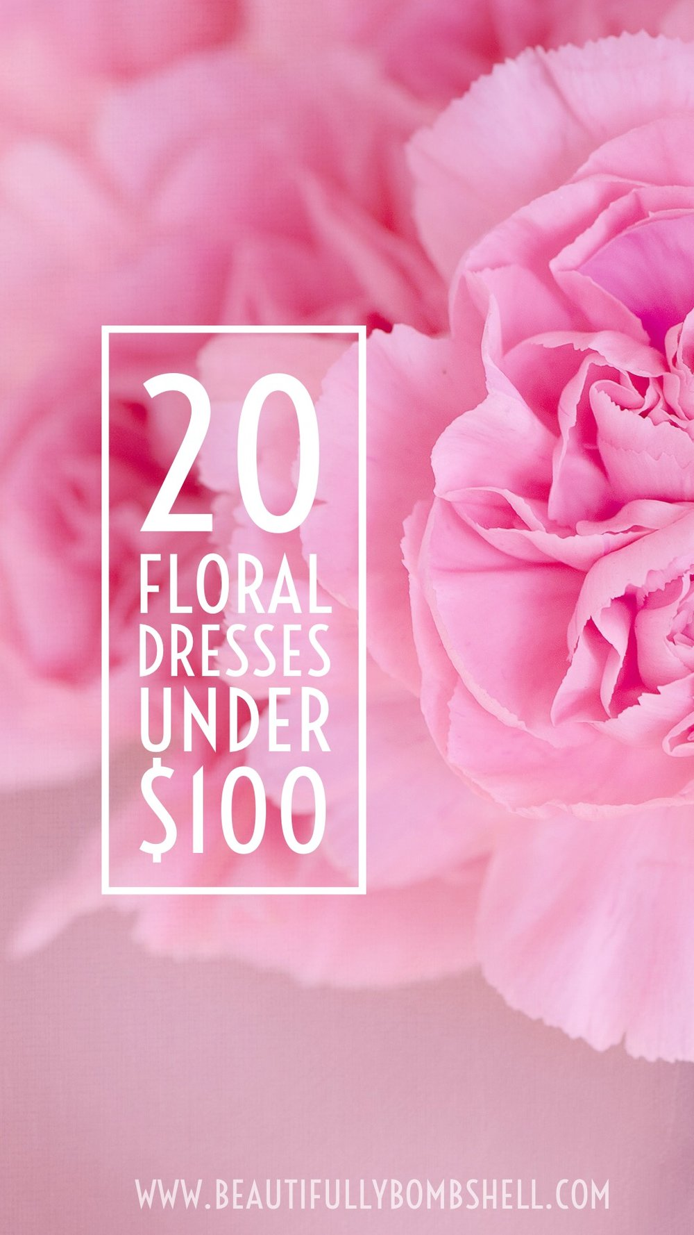 floral dresses under 100 pinterest