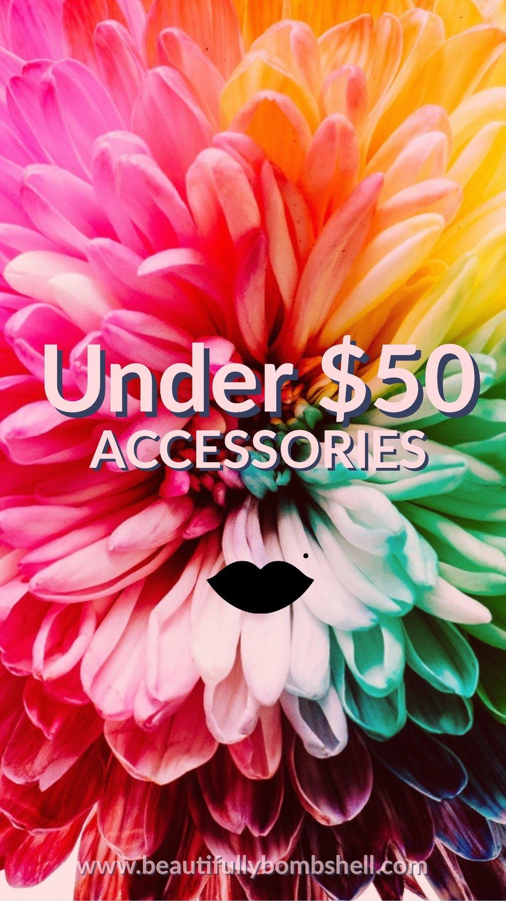 accessories under 50