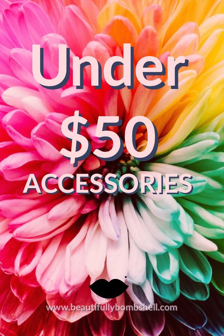 accessories under $50