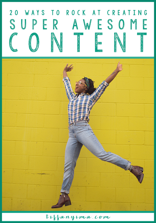 Consistent content creation can be difficult.  It can feel completely overwhelming to the point that you just don't create.   This often leaves you frustrated about your blog – and that frustration makes it even more difficult to create excellent content.