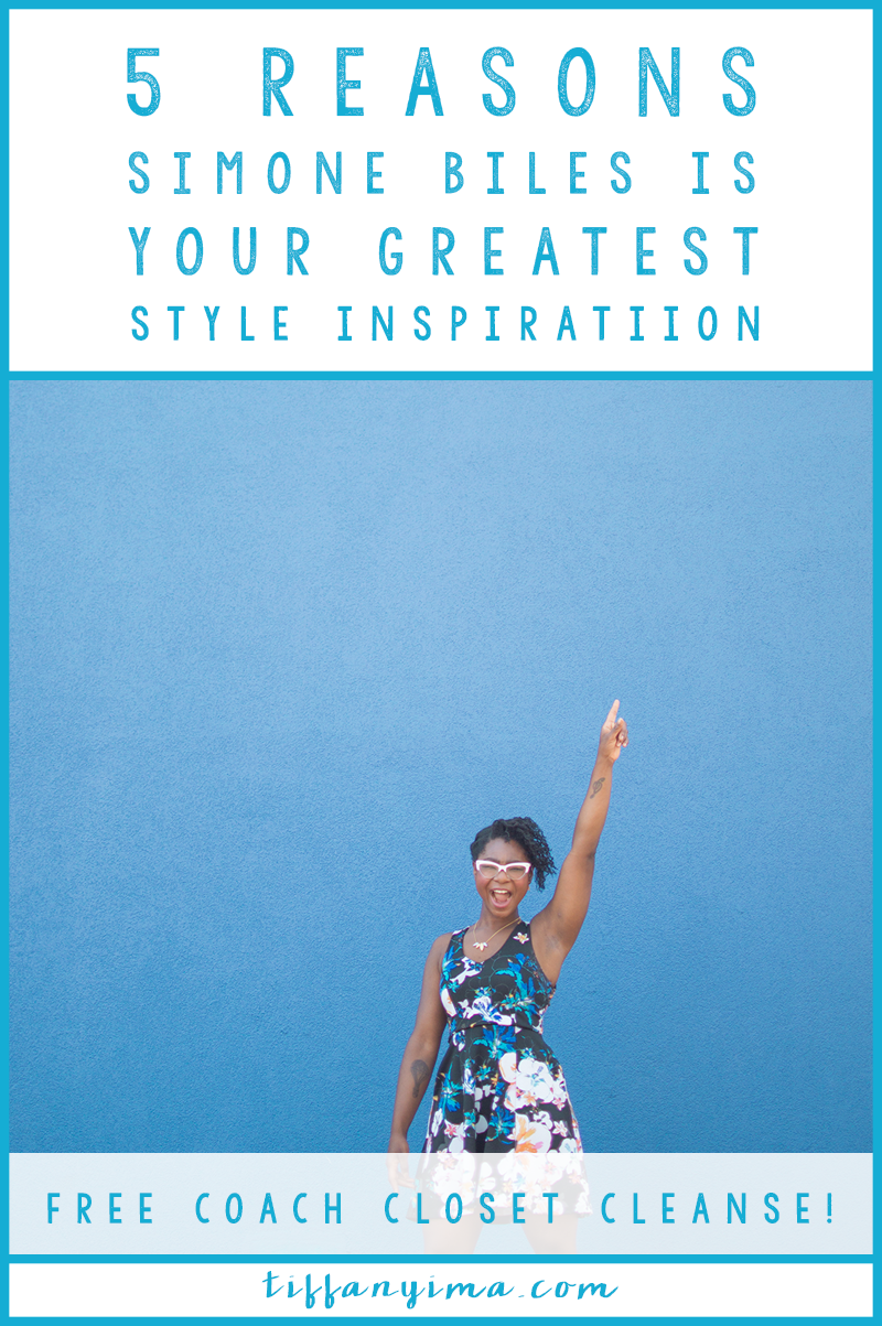 5 Reasons Simone Biles Is Your Greatest Style Inspiration: The ability to brand your style is all about attitude.  The clothes are not as important as the personality that shines through them. That's the whole reason for building a style based on your personality first. The connection between your personality and your brand is intrinsic and your style will help to reaffirm that image.