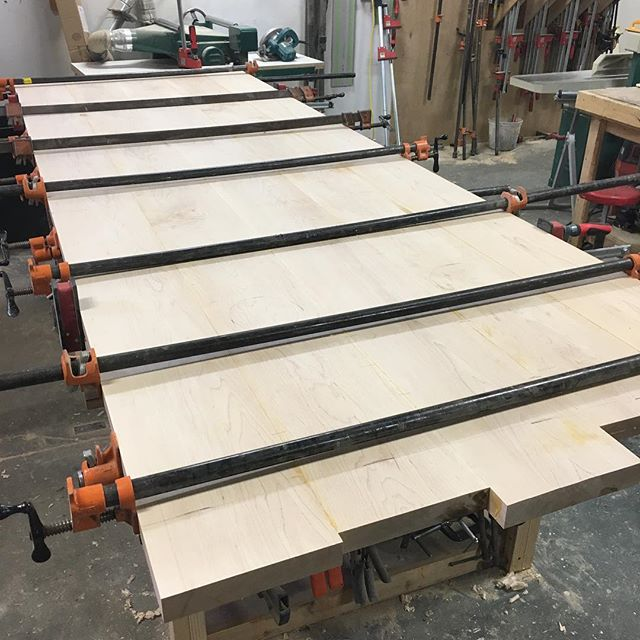 BIG maple table top coming soon.