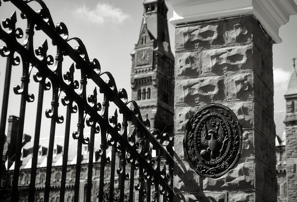 Georgetown University. Photo courtesy of  Brendan Ross of the Flickr Creative Commons