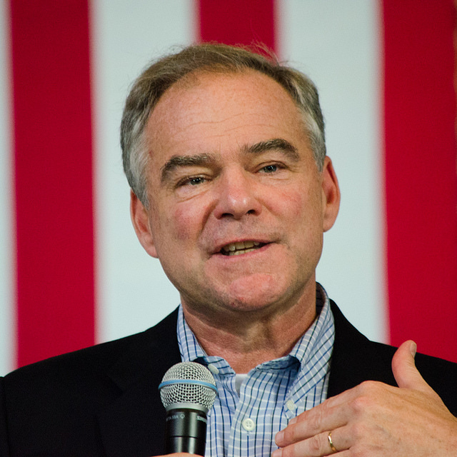 Jesuit graduates include the 2016 Democrat candidate for Vice President, Tim Kaine (D-VA)