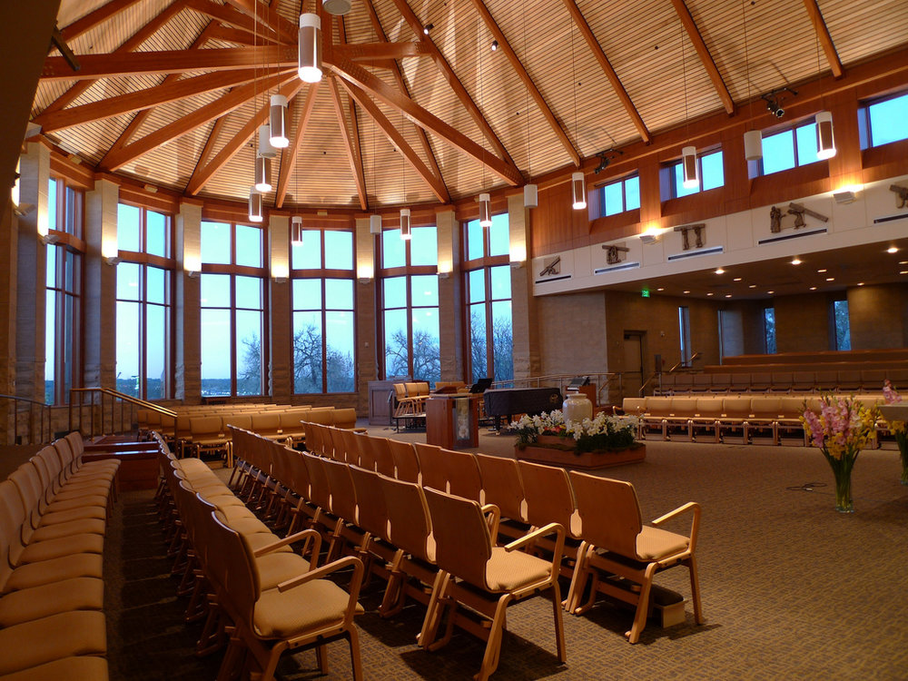 St. John Regis Chapel at Regis University. Photo Courtesy of Tom Byrne of the Flickr Creative Commons .