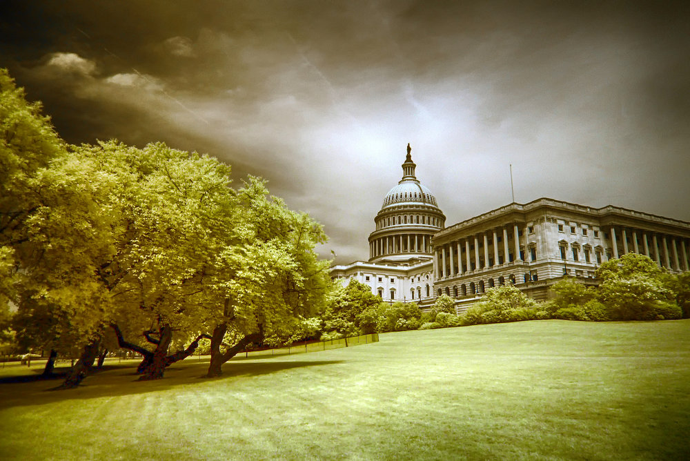 """""""Hill,"""" a photo of the U.S. Capitol, courtesy of  Zach Stern  of the Flickr Creative Commons."""