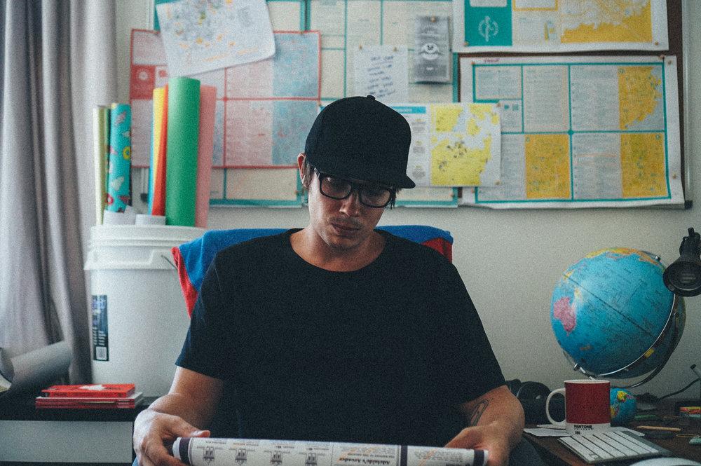 Sam Trezise Making Maps