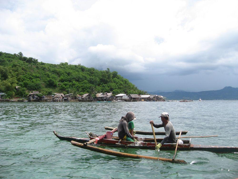 """""""Bubo"""" or crab fisherman in Gulod, Calatagan"""