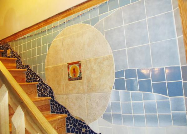 Prana stairway by Elisha