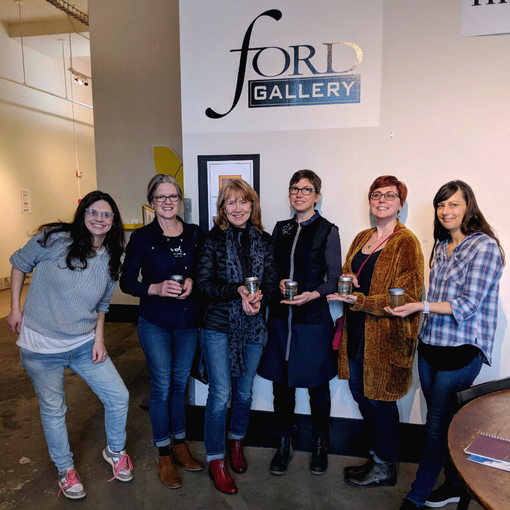 RR 2018 Featured Artists:   Sara Sjol   (founder)   M  aryAnn Puls ,  Marilyn Joyce ,  Kristy Kun ,  Kelly Nedig ,  Clare Carpenter .