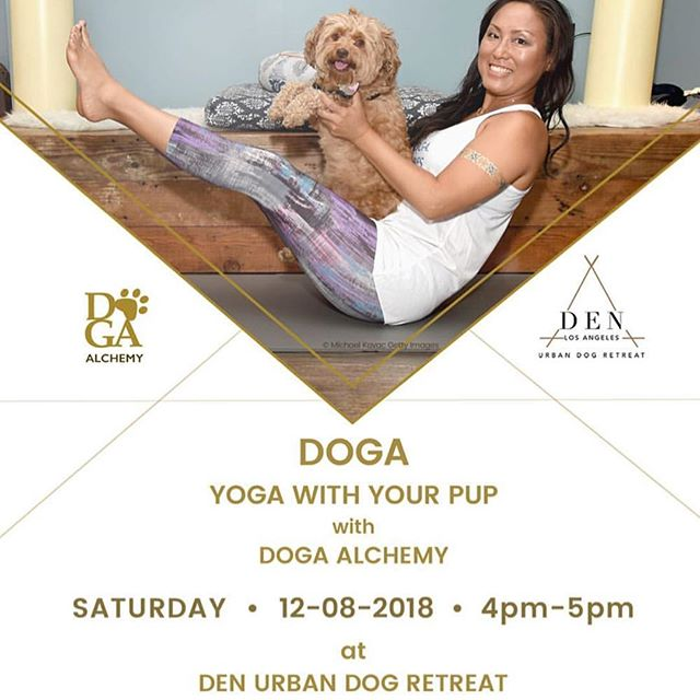 Hi Eastsiders! Tomorrow@denurbandogretreat we are hosting our first Doga class! Hope you can make it!