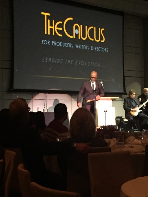 James Pickens, Jr. from Grey's Anatomy hosts the 34th Annual Caucus Gala Awards.