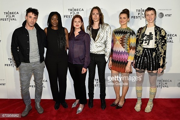 Phone Calls premiere with cast and creators, Bonnie Wright and Martin Cohn.