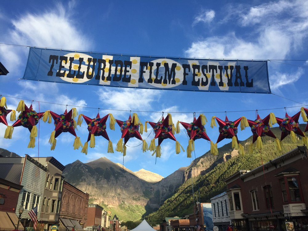 Opening Day picnic at the 2018 Telluride Film Festival. Had the most amazing time!!!