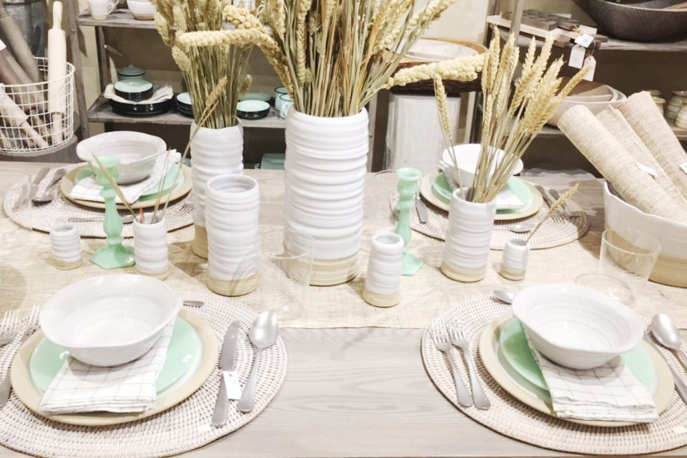Styled tabletop. Photo: The Romanticist Studios